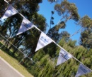 Promotional outdoor buntings
