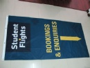 Event fabric banner