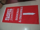 Promotional fabric banner